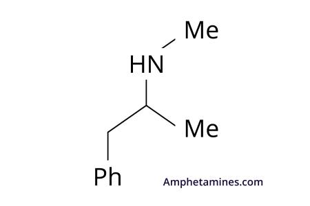 methamphetamine structure