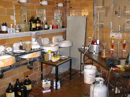 methamphetamine laboratory